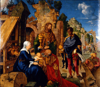 Adoration of the Magi, Dürer