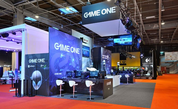 Stand Game One Salon Paris Games Week 2012 Stand