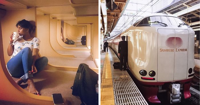The Interiors Of These Japanese Sleeper Trains Are A Designer S