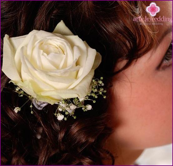 Ornements De Cheveux De Fleurs