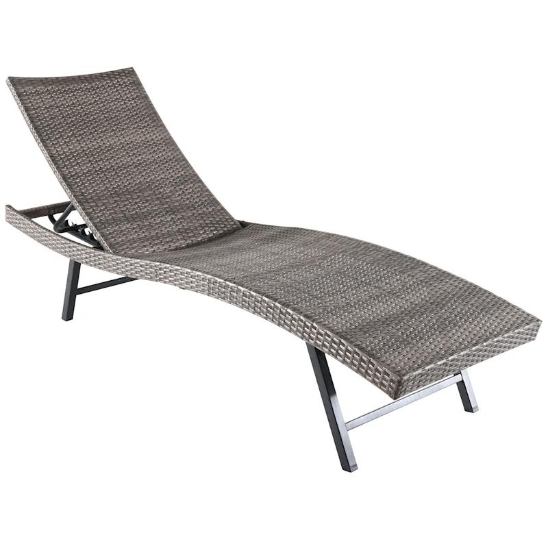 bridgeport wicker outdoor chaise lounge
