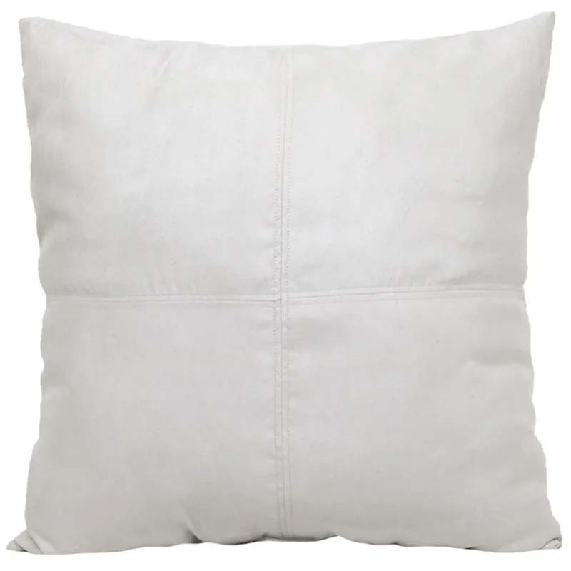 heavy suede pillow 24 at home