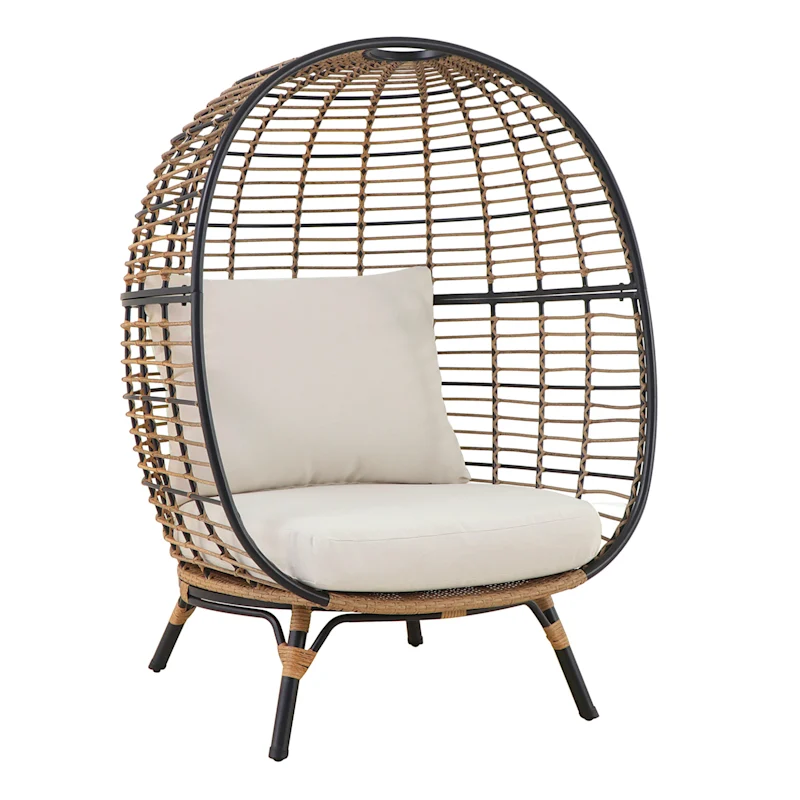 tracey boyd oversized egg chair at home