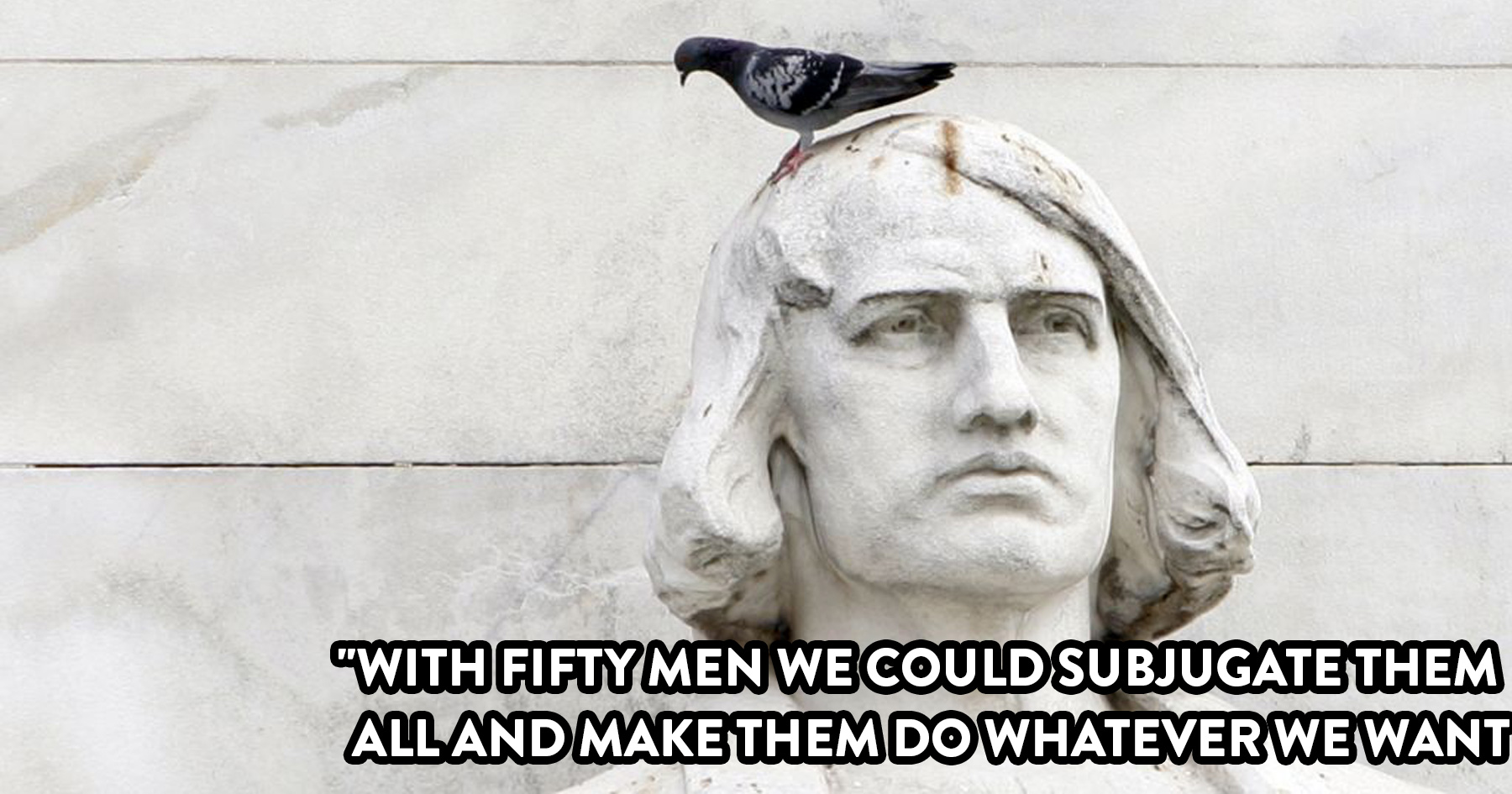 Christopher Columbus Journal Proves He S The Worst