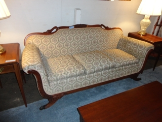 Antique Duncan Phyfe Sofa This Had Beautiful