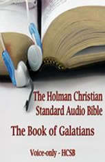 The Book of Galatians: The Voice Only Holman Christian Standard Audio Bible (HCSB)