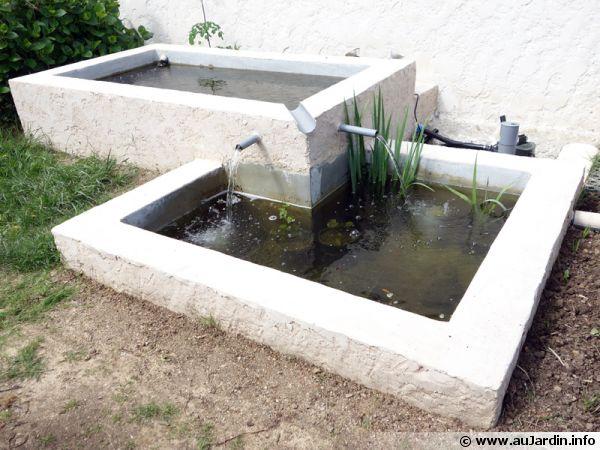 creation d un bassin a deux niveaux