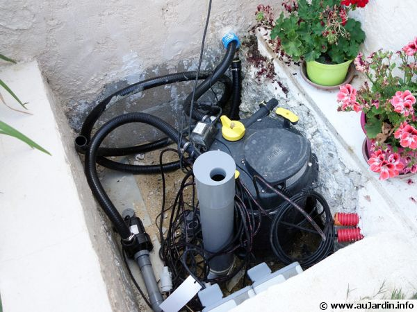 trucs pour la filtration du bassin
