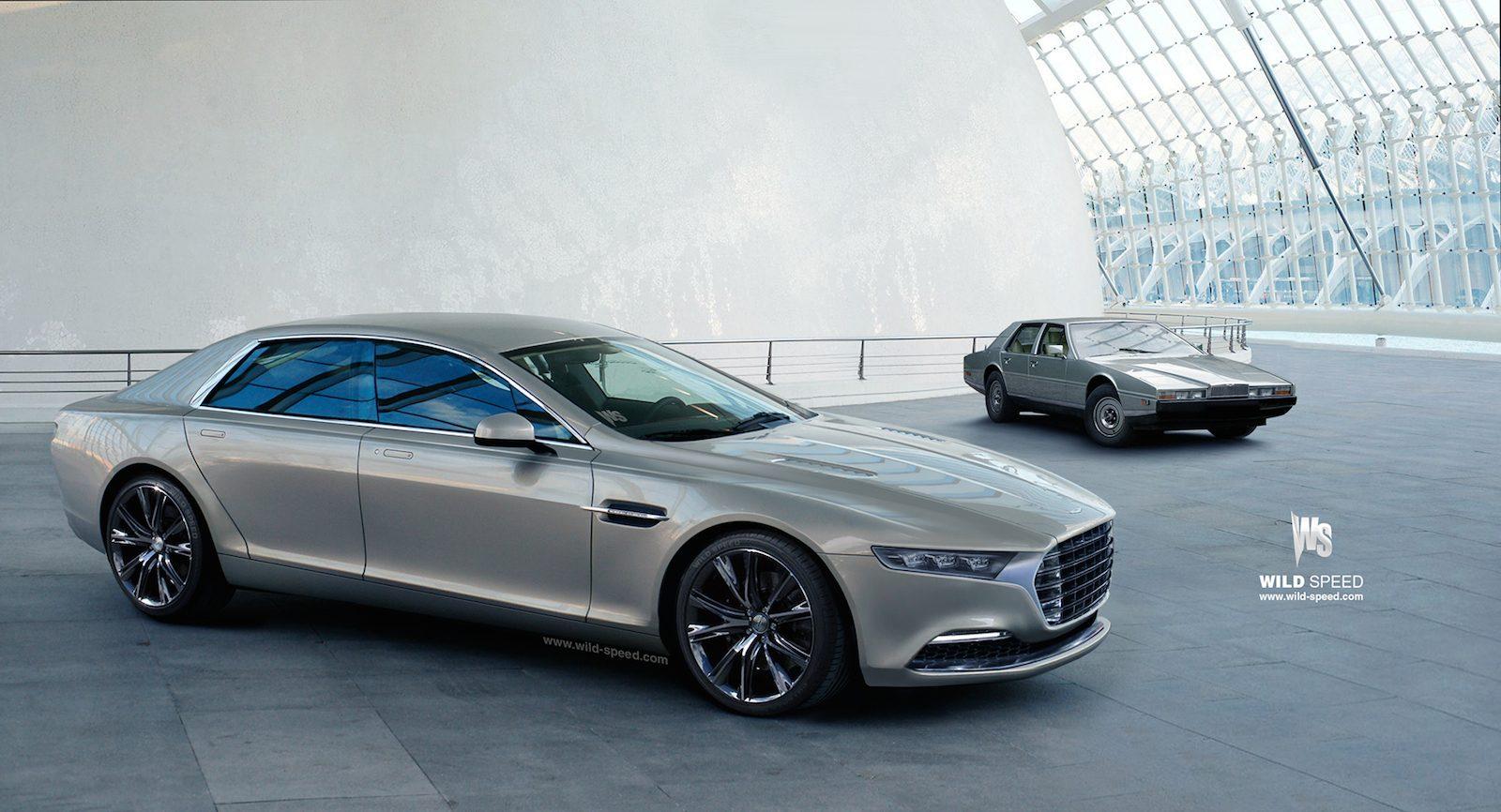 Aston Martin Lagonda 2015
