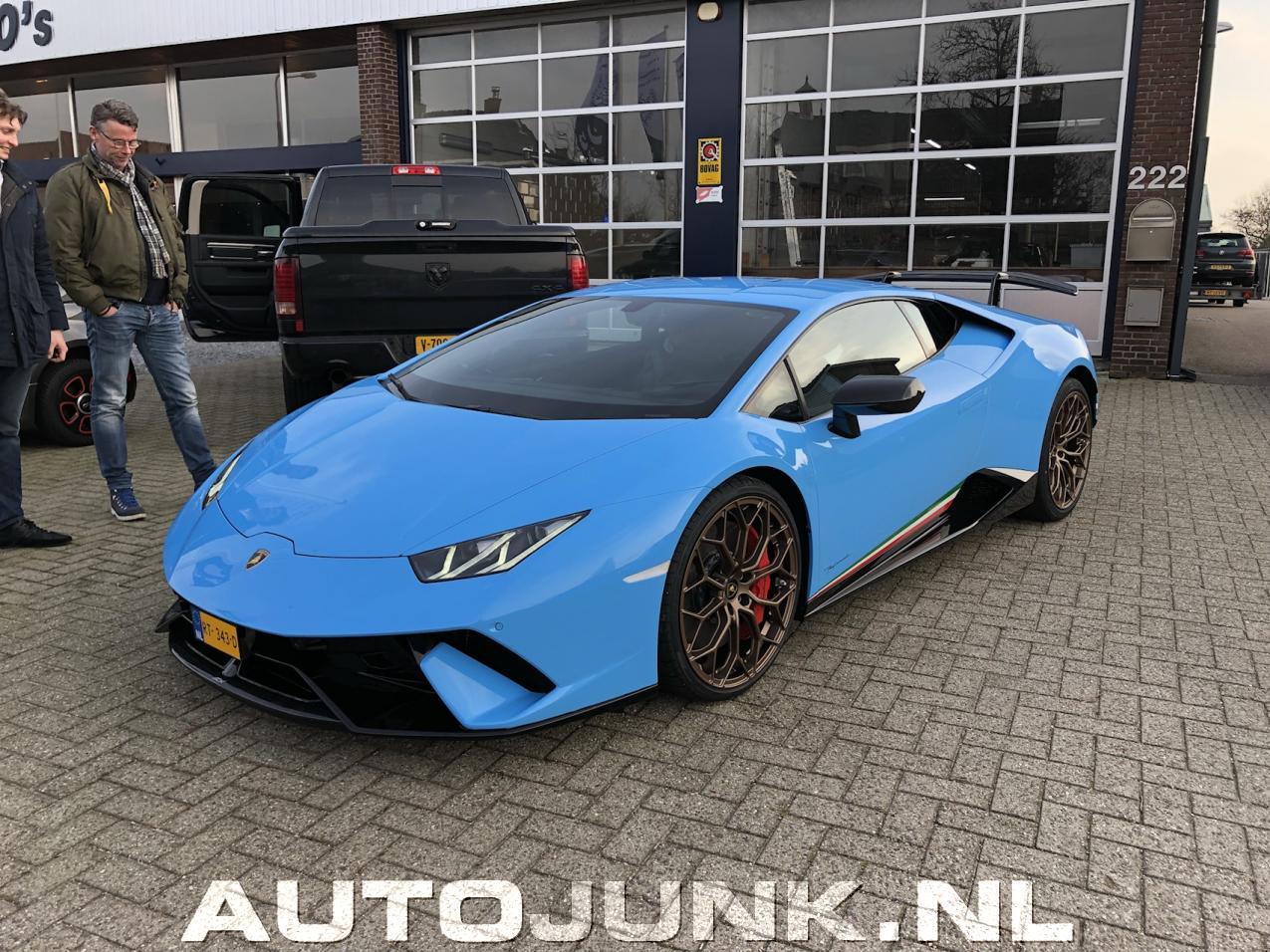 Blue Jake Paul Lamborghini