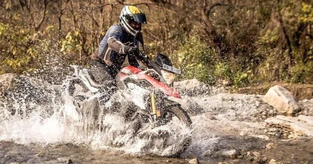 BMW G 310 Water Crossing