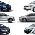Honda City Vs Hyundai Verna Vs Maruti Suzuki Ciaz Vs Vw Vento Vs Skoda Rapid Vs Toyota Yaris Spec Comparison Autox