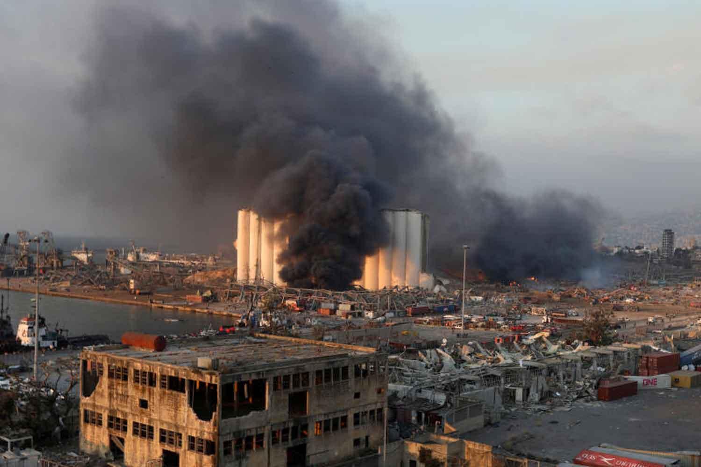 NNN: Países do mundo todo continuam oferecendo ajuda, enquanto o Líbano enfrenta a destruição causada pela enorme explosão de Beirute. O avião C-130 da Força Aérea Grega com um grupo de equipes de resgate decolou para a devastada capital libanesa na manhã de quarta-feira. A aeronave transporta 13 membros da primeira unidade especial de gerenciamento […]