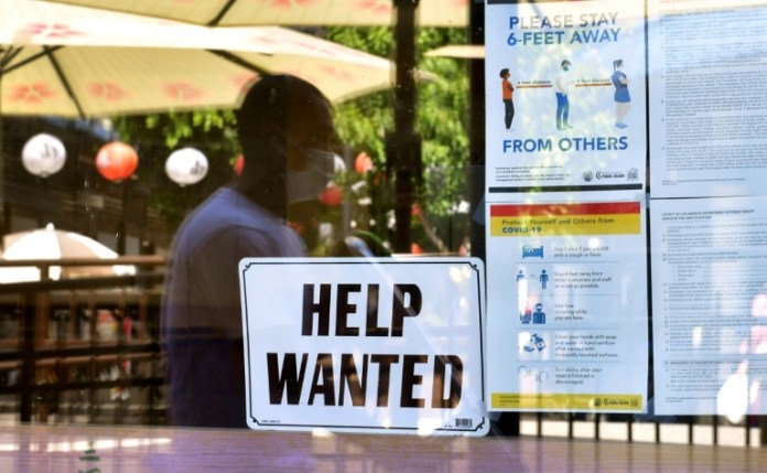 Rosy but not red hot US jobs numbers were welcomed by the market.