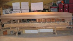 starting to actually look like a cedar strip canoe