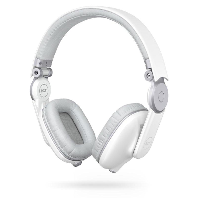 RCF ICONICA W Angel White DJ-hoofdtelefoon by Benny Benassi