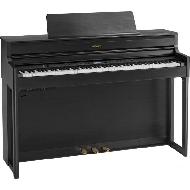 Roland HP704 digitale piano Charcoal Black