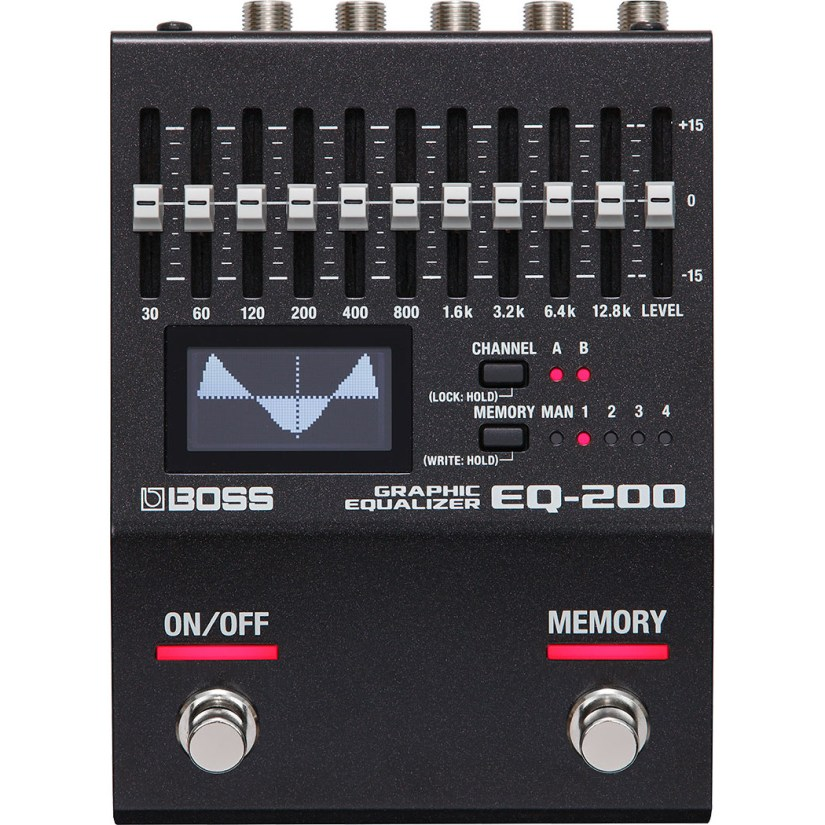 Boss EQ-200 Graphic Equalizer effects pedal