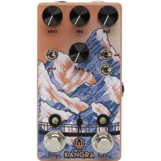 Walrus Audio Kangra Filter Fuzz effects pedal