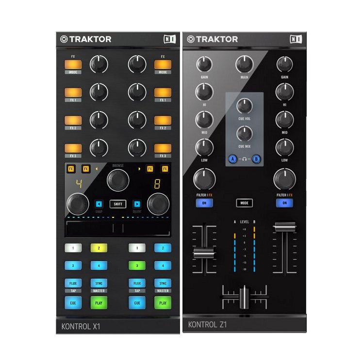 Native Instruments Traktor Kontrol X1 MK2 + Traktor Kontrol Z1