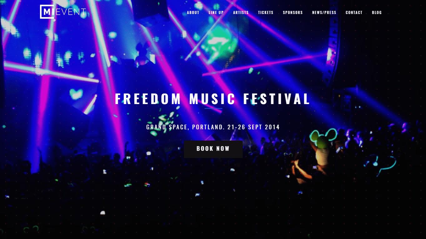 Festival WordPress Theme