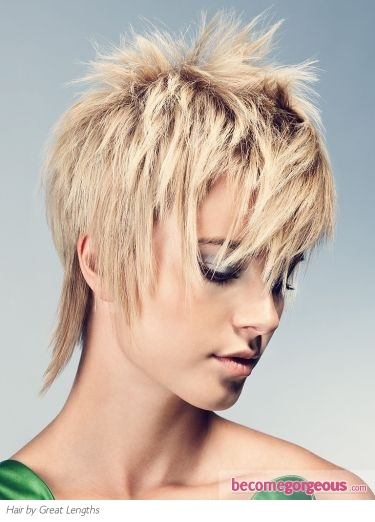 Pictures Short Hairstyles Sexy Short Choppy Haircut