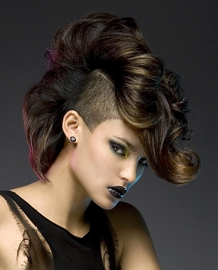 latest punk hair styles