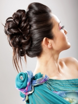 Wedding Loose Updo Hairstyles | Makeup Tips and Fashion