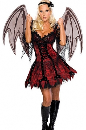Right! good costume goth halloween teen
