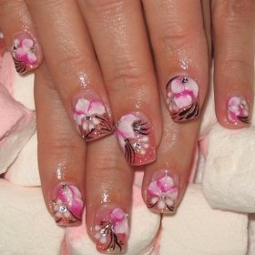 Tags: Hot Nail Art Ideas, Hot Nail Art, Nail Art Ideas, Nail Art Designs, Nail  Art, Nail Designs, Nail Painting, Manicure Trends, Manicure, Nail Trends,  ...