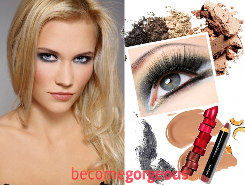Eye Makeup Ideas For Green Eyes And Blonde Hair Kakaozzank Co