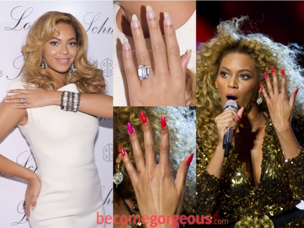 Beyonce Knowles Your Finger Nails