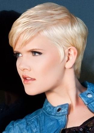 Latest Short Layered Haircut Ideas 2012