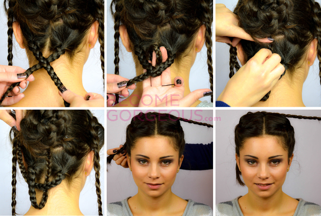 Katniss Everdeen Wedding Updo Tutorial Video