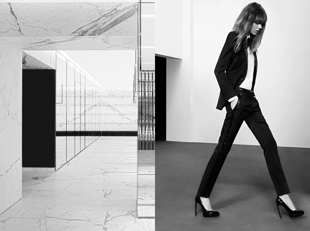 Saint Laurent Pre-Fall 2013 Campaign