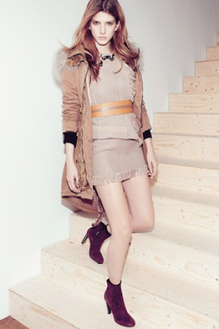 Patrizia Pepe Fall Winter 2013 Look   (8)