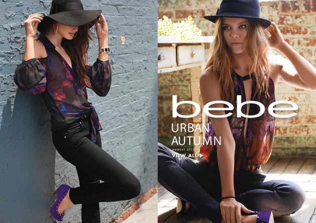 Bebe 'Urban Autumn' Fall 2013 Lookbook