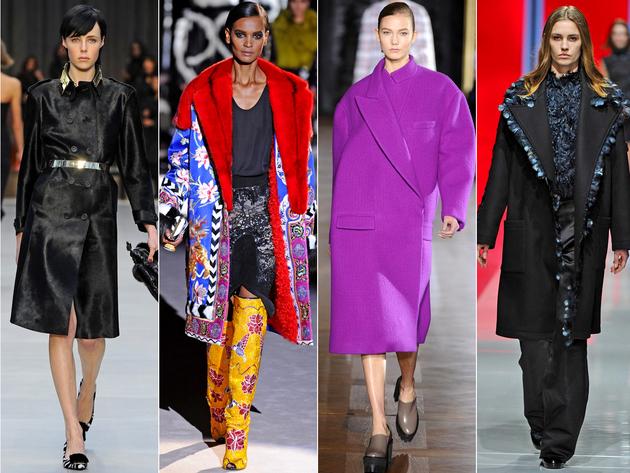 Oversized Coats Fashion Trend