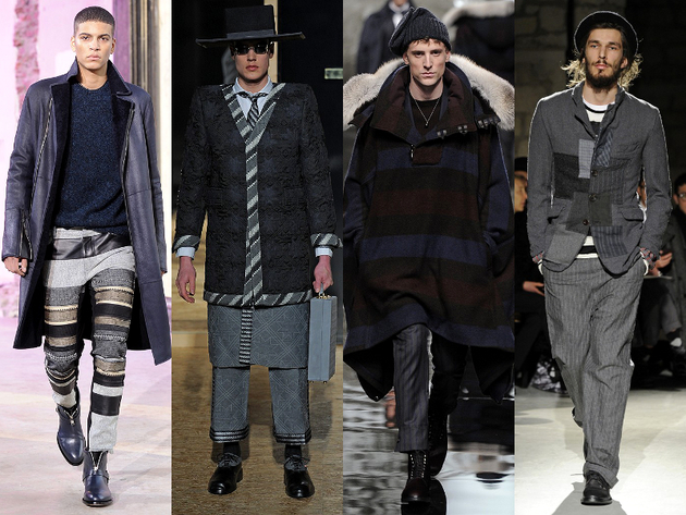 Patchwork Menswear Trend Fall 2013