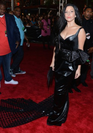 Lady Gaga Prabal Gurung Peplum Dress