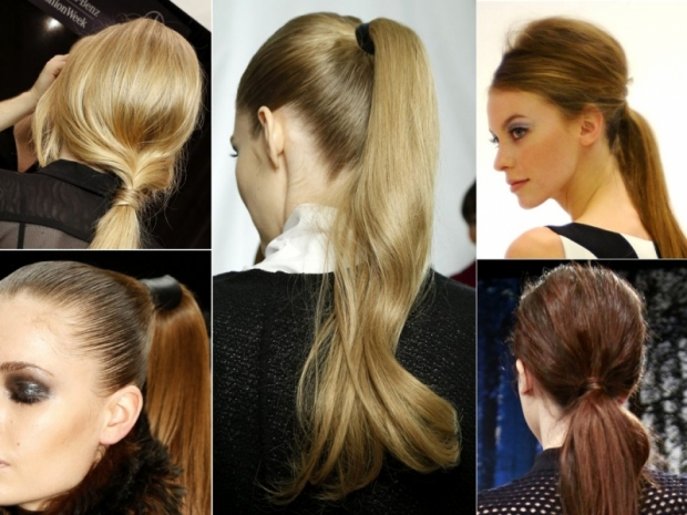 Fall 2013 Hairstyles: Ponytails