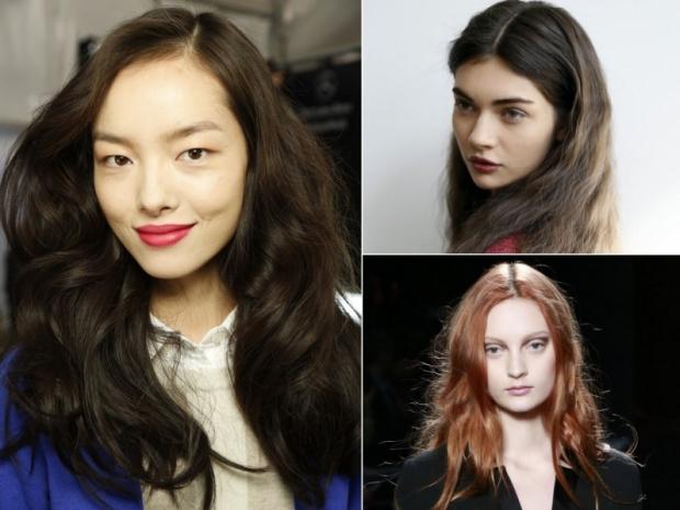 Fall 2013 Hairstyles: Natural Glossy Waves