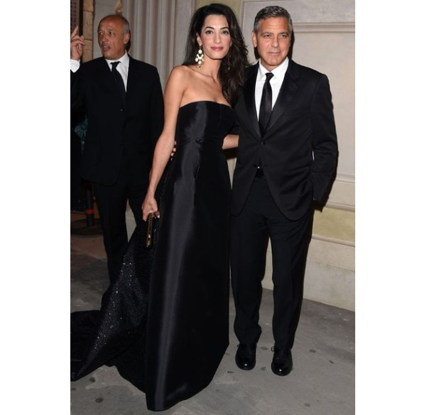 Amal Clooney Celebrity Fight Night In Italy Gala
