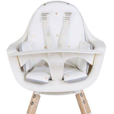 coussin de chaise haute evolu eponge pois dores