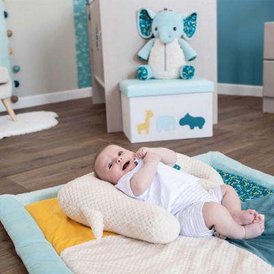 tapis de parc celadon zanimo 100 x 100 cm