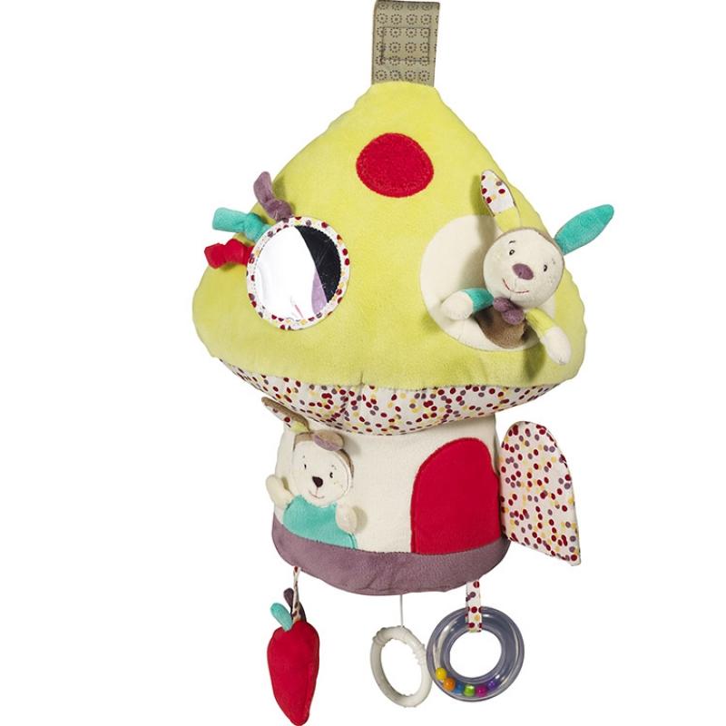 jouet d eveil musical et lumineux champignon tinoo