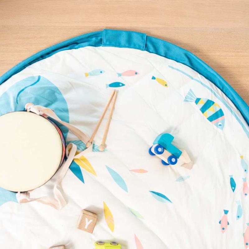 tapis de jeu nomade 2 en 1 soft designers olga par moulin roty