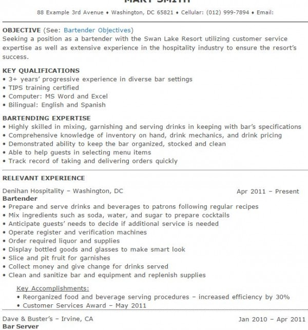 resume images about bartender resumes on resume bartender resume