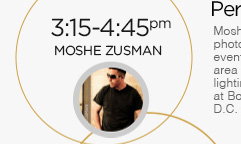3:15-4:45pm: Moshe Zusman