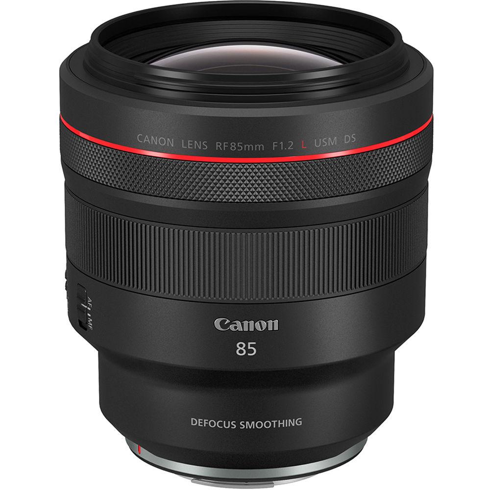 Canon RF 85mm f/1.2L USM DS Lens 3450C002 B&H Photo Video